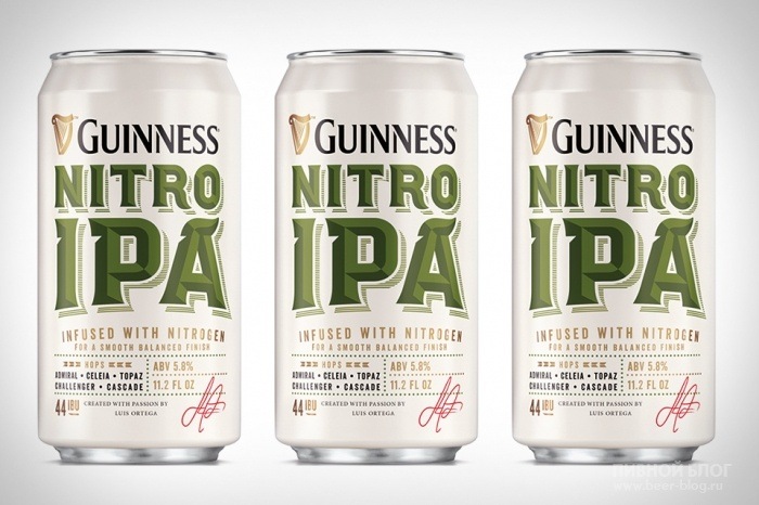 Beer Blog Info. Guinness Nitro IPA-Ирландский крафт.
